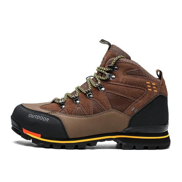 Winter Suede Hiking Boots Ankle Work Shoes