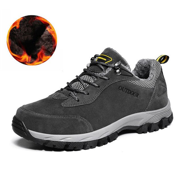 Men Lace-up Comfortable Outdoor Hiking Shoes