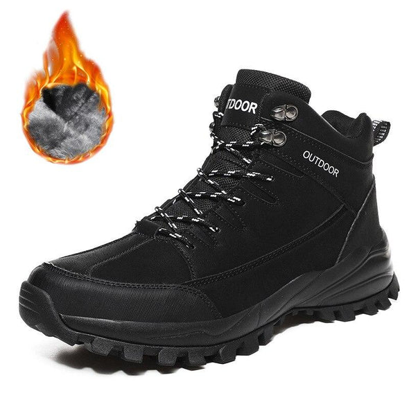 Hiking Boots Classic Pro-Mountain Ankle Boots Trekking