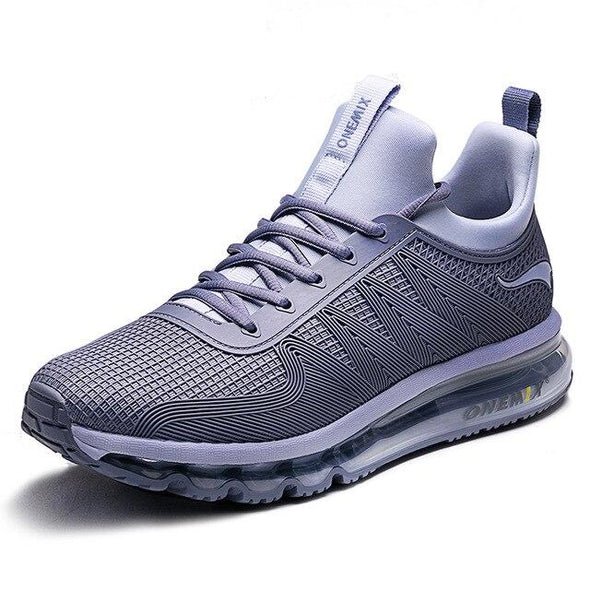 running shoes air cushion shock absorption sports sneaker