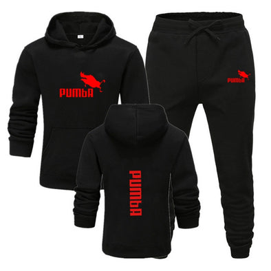 casual sportswear men's two-piece Hooded Sweatshirt