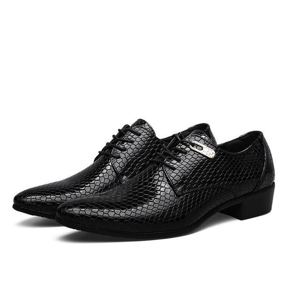 Men's Business Dress Classic Shoes Pointed Toe Formal Shoes