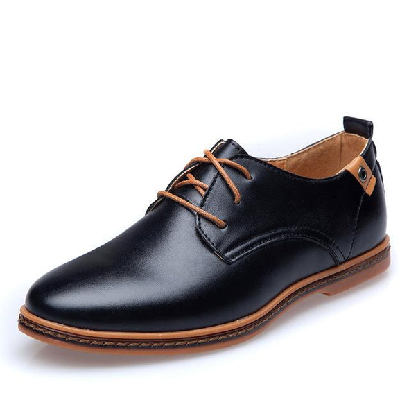 Fashion Big Size Lace-Up Men's Casual Shoes
