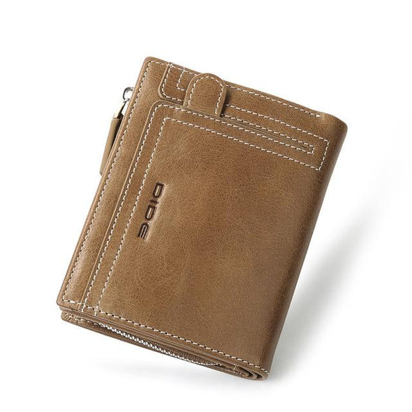 Vintage Style Large Capacity Soft Men's Wallets
