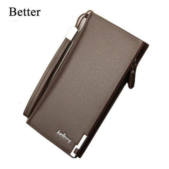 Luxury Classic Large Capacity Long Style Card Holder Men's Wallets