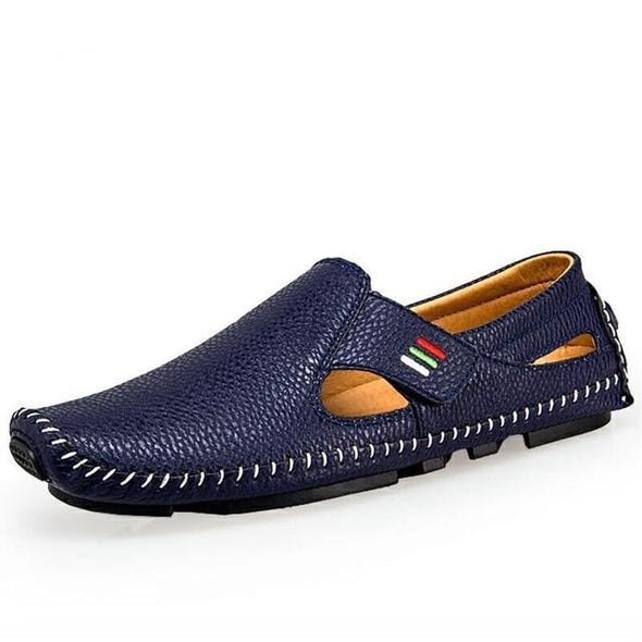 Men Breathable Casual Shoes Summer Loafers Soft Moccasins