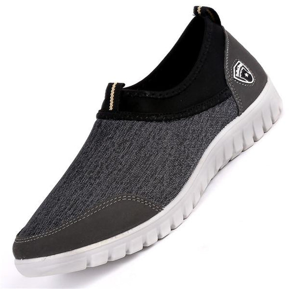 Plus Size Men Mesh Breathable Comfortable Casual Shoes