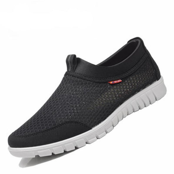 New Plus Size Breathable Mesh Men's Casual Shoes