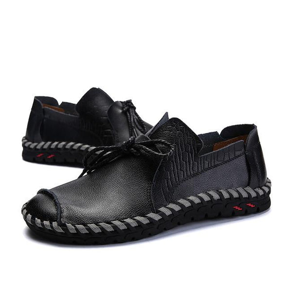 Fashion Handmade Big Size Lace-up Men's Casual Shoes