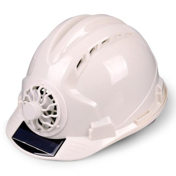 Solar Power Fan Helmet Outdoor Construction  Working Safety Hard Hat