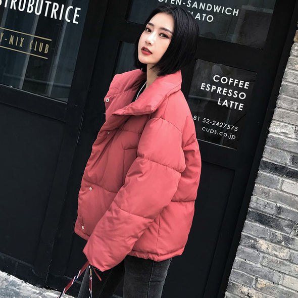 Autumn Winter Jacket Women Fashion  Warm Casual  Overcoat