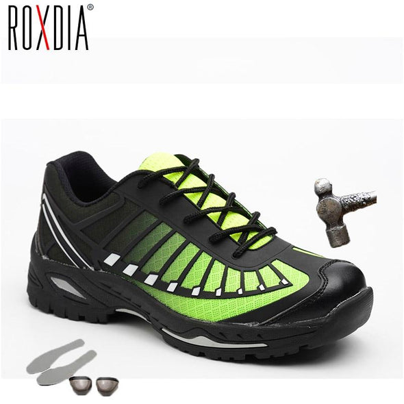 Brand Men Plus Size Steel Toe Cap Work & Safety Shoes