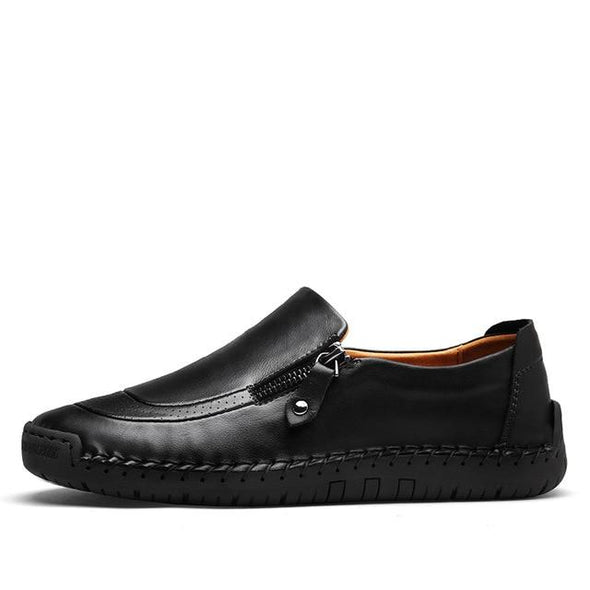Classic Comfortable Men Casual Leather Flats Moccasins Shoes