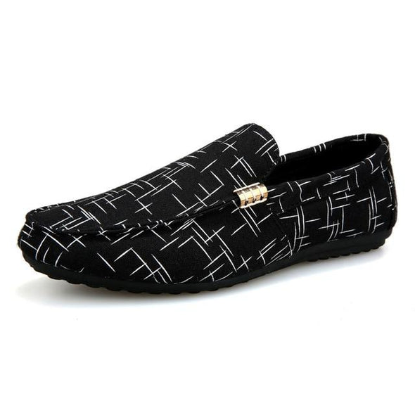 Men Casual Shoes Lightweight Breathable Flat Loafers