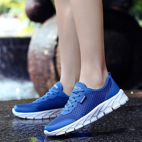 Plus Size Summer Men Air Mesh Breathable Casual Shoes