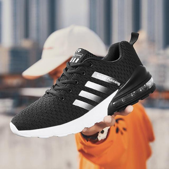 Sneakers Men Shoes Air Cushion Mesh Shoes Breathable Sneaker