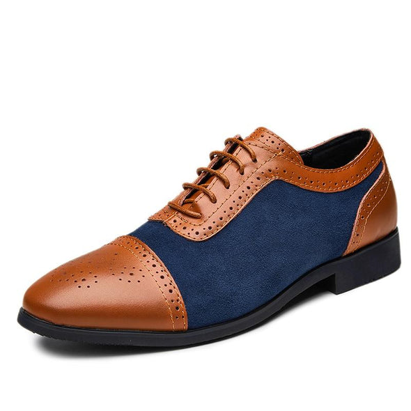 Men's Formal Business Lace-Up Leather Shoes