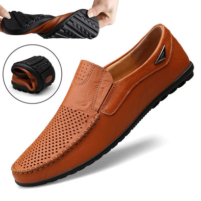 Italian Men Luxury Brand Summer Mens Loafers Shoes