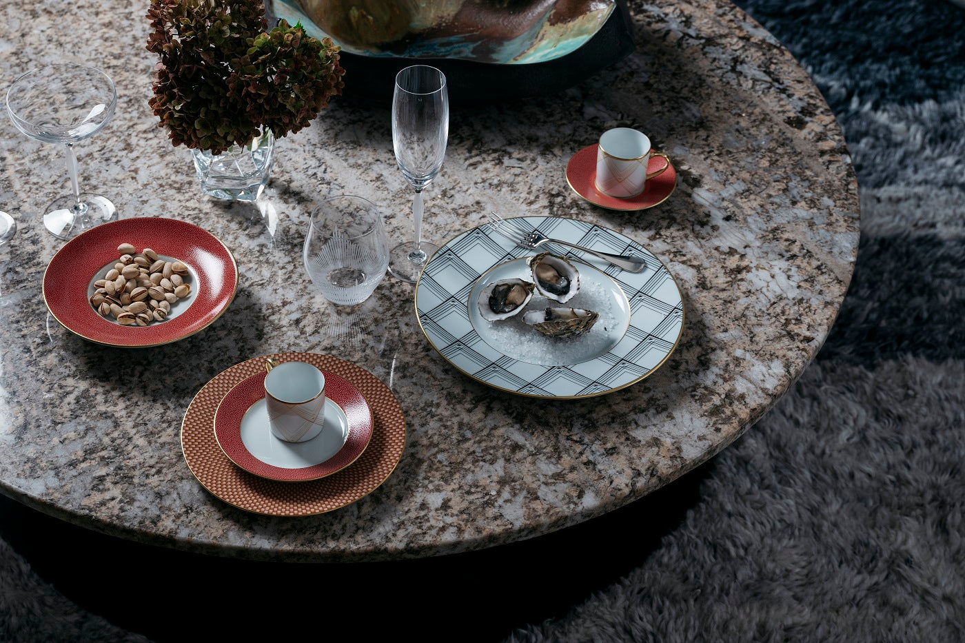 European craftsmanship tableware