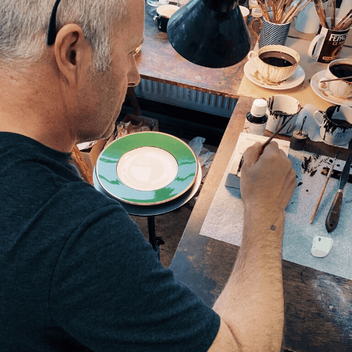 Bespoke process for your professionally handmade tableware