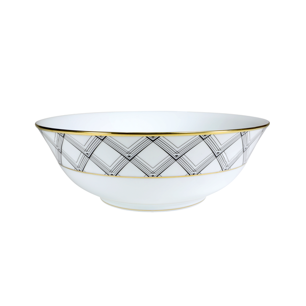 ART DECO SERVING BOWL