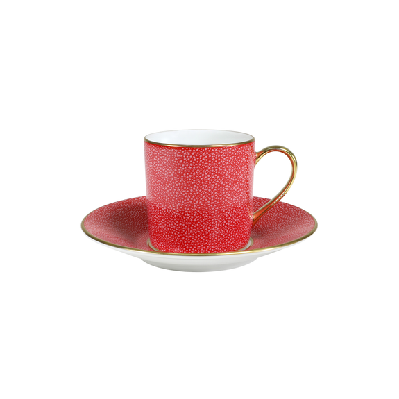 CHAGRIN D'AMOUR COFFEE CUP & SAUCER