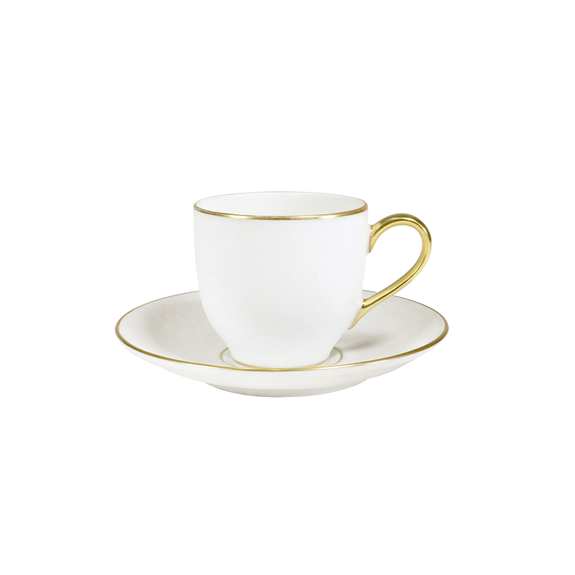 MOONSCAPE ROUND ESPRESSO CUP & SAUCER