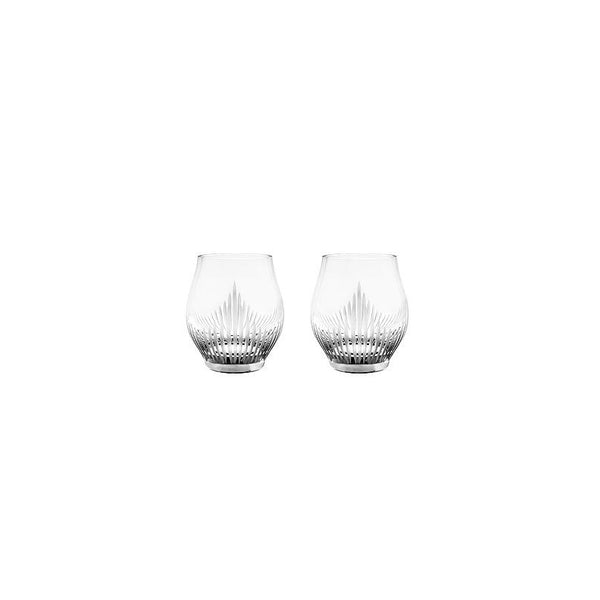 LALIQUE CRYSTAL SHOT GLASS - SET OF TWO