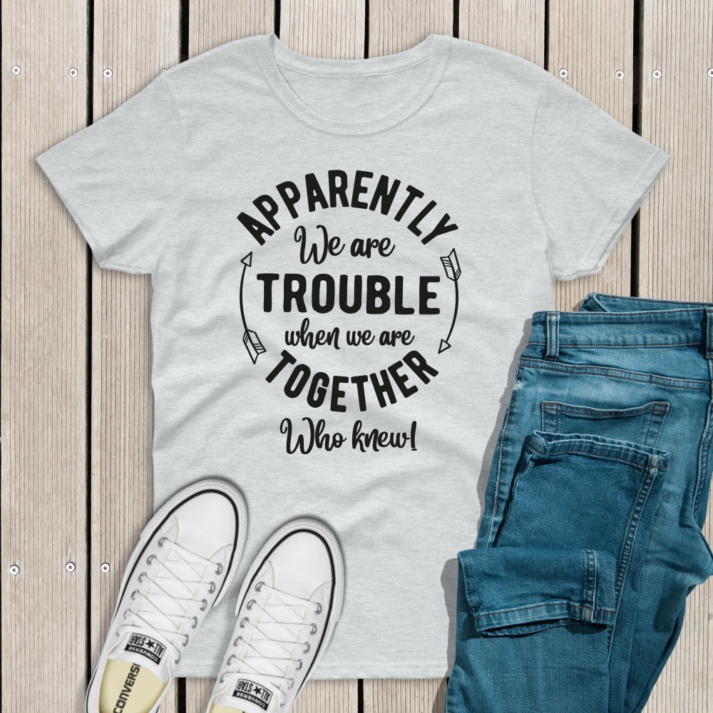 Fashion Playful Trouble Together Top - Treasure By Design