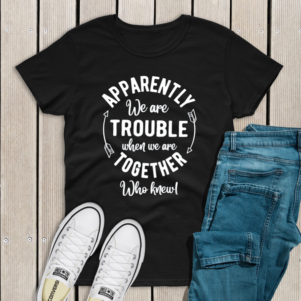 Playful Trouble Together Top