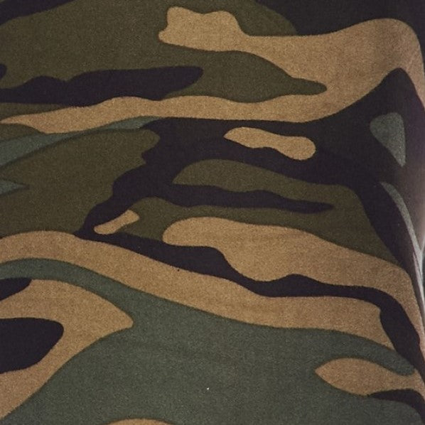 Fashion Camouflage Print Legging - Women's - Treasure By Design