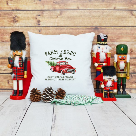 Home Decor Farm Fresh Christmas Trees with Pickup Truck - Treasure By Design