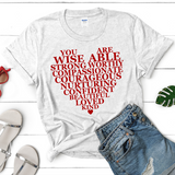 Fashion Words of Wisdom Word Art - Treasure By Design
