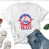 Fashion Land of the Free Because of the Brave - Treasure By Design