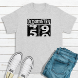 Fashion Hilarious Oldometer T-shirt - Treasure By Design