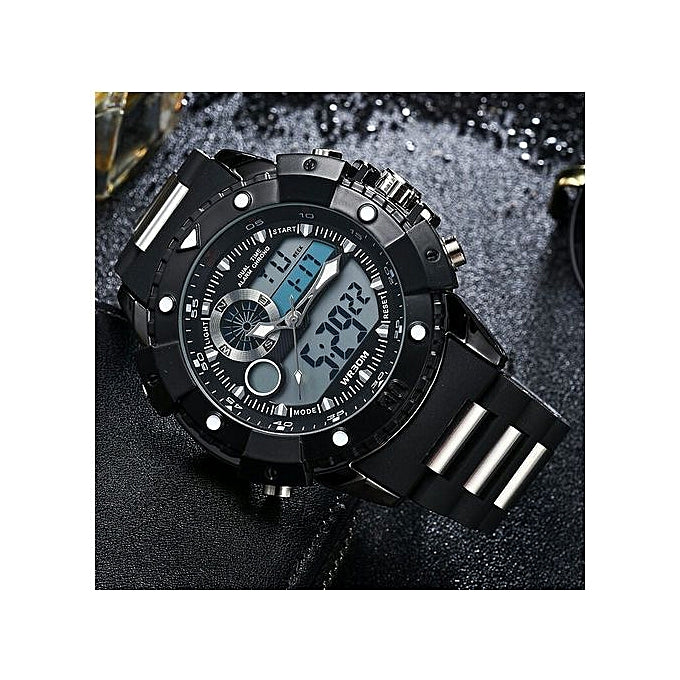STRYVE Executive Men Analog And Digital Waterproof Wristwatch