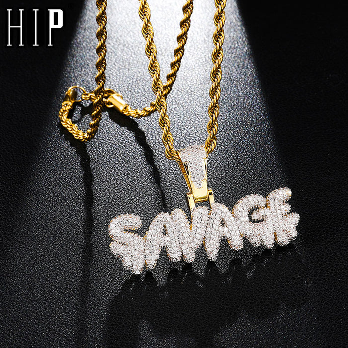 SAVAGE Chains Pendant &amp;Necklace For Men<span> </span>