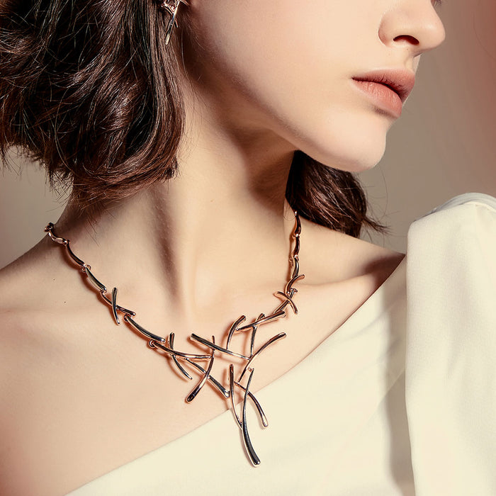 Viennois Necklace Earrings Dubai Jewelry Sets For Wedding Dress