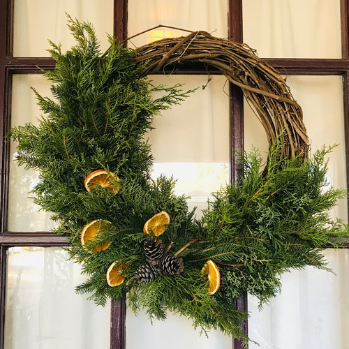 Winter Wreaths: Grapevine