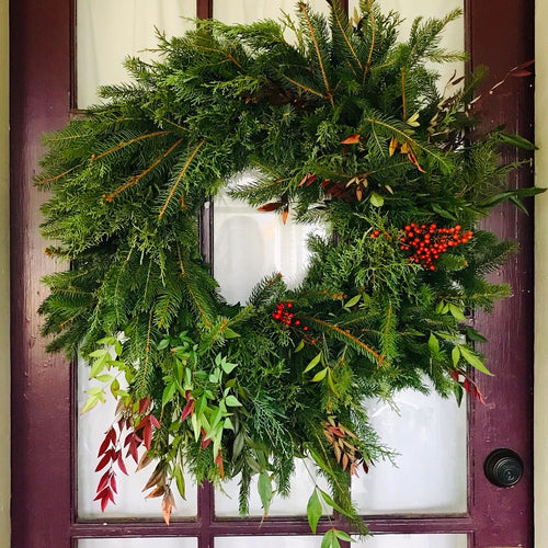 Winter Wreaths: Full Circle
