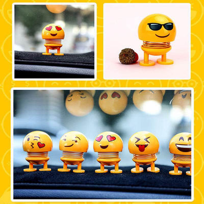 【Up To 70% Off & Buy More Save More!】Car Shaking Head Emoji Doll Toys - Emakegoodlife