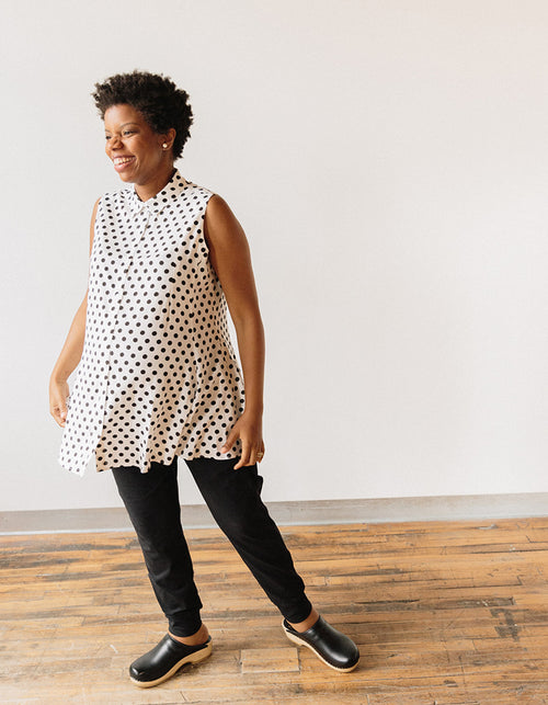 Maternity top, tunic  by Oriane