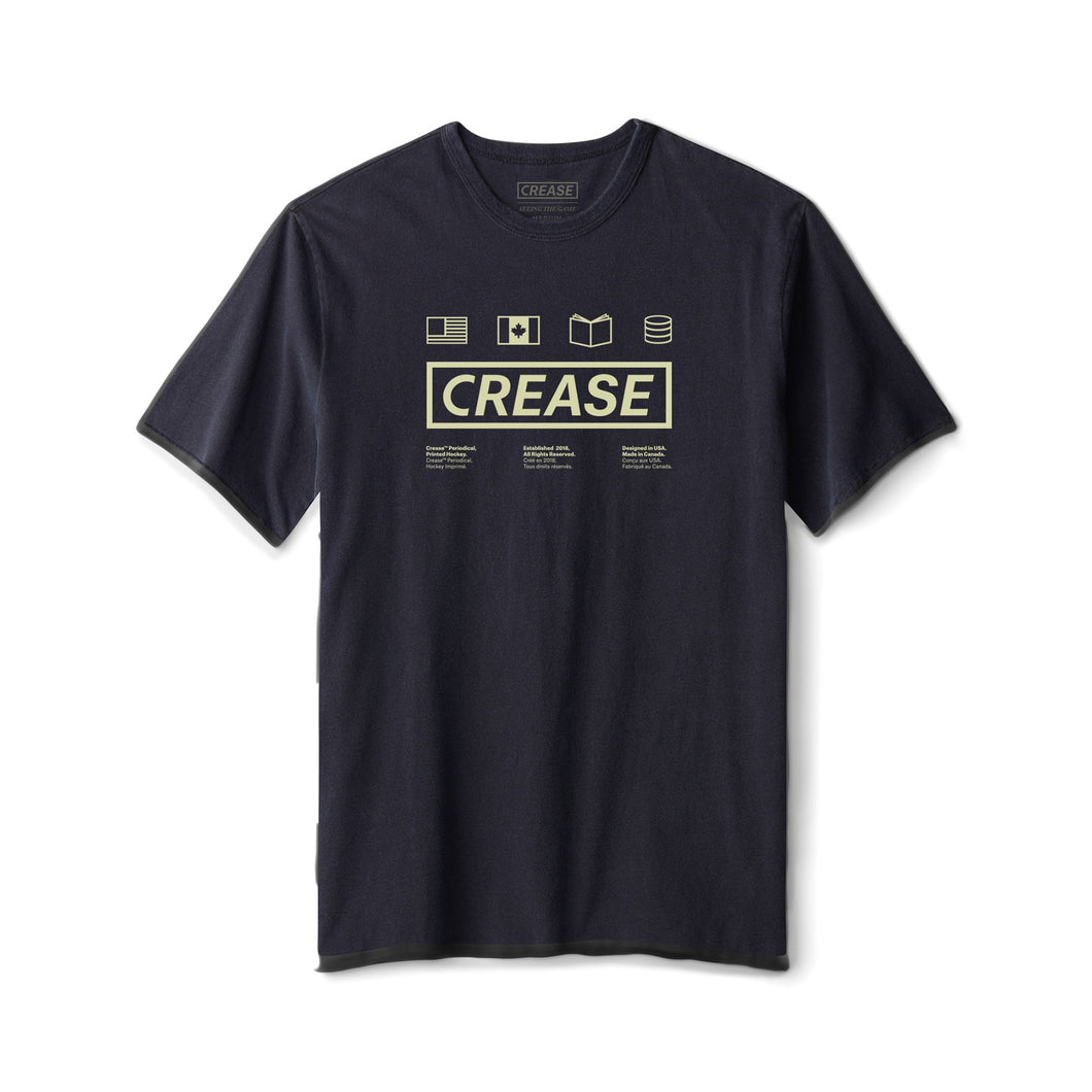 Crease Established Tee