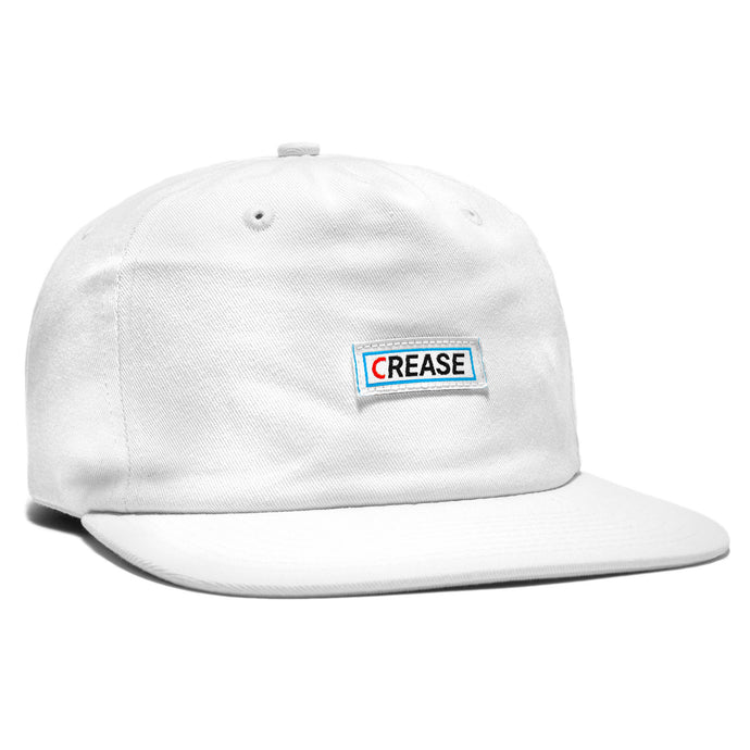 Crease Logo Unstructured Snapback