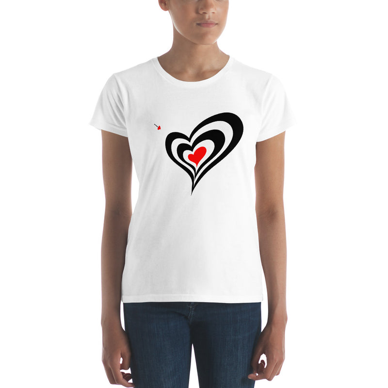 Queen of Hearts Premium short sleeve t-shirt