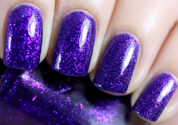 Purple Monkey Dishwasher Nail Polish