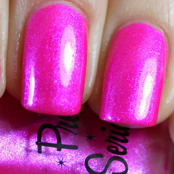 The Pink One Hot Pink Shimmer Nail Polish 11ml – Pretty Serious ...
