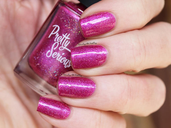 Lyra Holographic Nail Polish - Pretty Serious Cosmetics