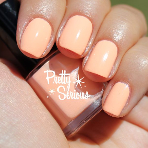 Peachie Poo Nail Polish 11ml - Pretty Serious Cosmetics
