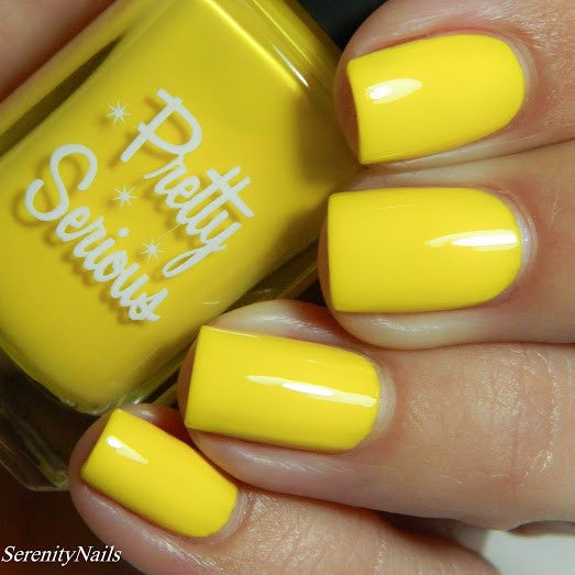 Honey Puff Nail Polish - Pretty Serious Cosmetics